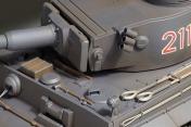 Радиоуправляемый танк German Tiger I EP 1:24 Airsoft/JR (Grey RTR Version)-фото 1