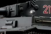 Радиоуправляемый танк German Tiger I EP 1:24 Airsoft/JR (Grey RTR Version)-фото 2