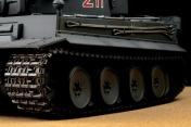 Радиоуправляемый танк German Tiger I EP 1:24 Airsoft/JR (Grey RTR Version)-фото 3
