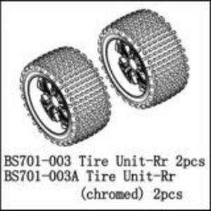 BSD Racing Комплект колес задние BS701G 2 шт (хром)