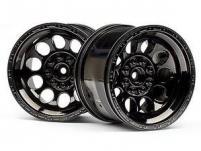 """HPI Racing Комплект дисков 1:10, для шин Bullet ST, 3,2"""", шир. 56мм, чёрный хром, 2 шт"""