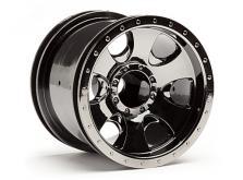 """HPI Racing Комплект дисков 1:10, для шин Warlock, 2.2"""", чёрный хром, 2шт-фото 1"""