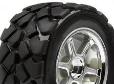 HPI Racing Комплект колес в сборе 1:18  VT TIRE, 35мм, хром, 4шт-фото 2