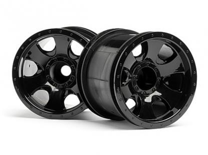 """HPI Racing Комплект дисков 1:10, для шин Warlock, 2.2"""", черный, 2 шт"""