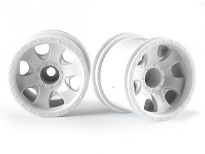 """HPI Racing Комплект дисков 1:10, для шин Warlock, 2.2"""", белый, 2 шт"""