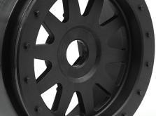 """HPI Racing Комплект дисков 1:5, для шин SC TR-10 GLUE-LOCK 4,7"""", черные, 2шт-фото 2"""