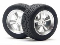 HPI Racing Комплект шин 1:10, 31мм, Vintage, тип B/2, для шоссейных моделей с кузовом ретро ,2шт.