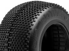 "HPI Racing Комплект шин 1:10, 2,2"",  с наполнителем, резина - Pink Compound,  2 шт-фото 2"