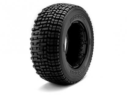 HPI Racing Комплект передних шин 1:5, резина - M Compound, HB RODEOO TIRE, 2шт