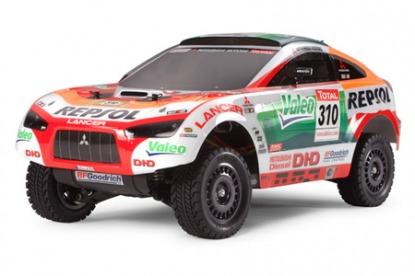 Радиоуправляемая модель Repsol Mitsubishi - DF01 Ralliart Racing Lancer