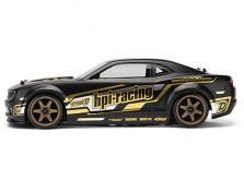 HPI Racing Корпус 2010 CHEVROLET CAMARO 200мм (матовый черный) окрашен-фото 2