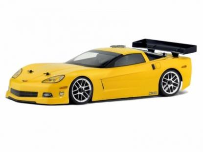 HPI Racing Корпус 1/10 Chevrolet Corvette C6,неокрашенный. Колёсная база 255мм. Ширина шасси 200мм