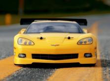 HPI Racing Корпус 1/10 Chevrolet Corvette C6,неокрашенный. Колёсная база 255мм. Ширина шасси 200мм-фото 2