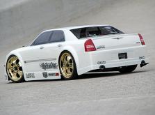 HPI Racing Корпус 1/10 CHRYSLER 300C SRT8, неокрашенный (200мм). Декали, наклейки и маски окон-фото 1