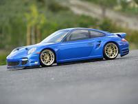 HPI Racing Корпус 1/10-PORSCHE 911 TURBO некрашеный 200 мм
