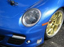 HPI Racing Корпус 1/10-PORSCHE 911 TURBO некрашеный 200 мм-фото 2