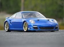 HPI Racing Корпус 1/10-PORSCHE 911 TURBO некрашеный 200 мм-фото 3