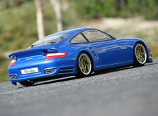 HPI Racing Корпус 1/10-PORSCHE 911 TURBO некрашеный 200 мм-фото 1
