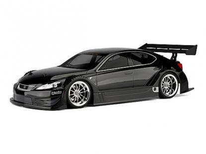 HPI Racing Корпус 1/10 LEXUS IS F RACING CONCEPT (200мм) некрашеный