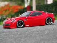 HPI Racing Корпус 1/10 ALFA ROMEO 8C COMPETIZIONE (200мм) некрашеный