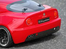 HPI Racing Корпус 1/10 ALFA ROMEO 8C COMPETIZIONE (200мм) некрашеный-фото 2