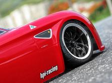 HPI Racing Корпус 1/10 ALFA ROMEO 8C COMPETIZIONE (200мм) некрашеный-фото 4