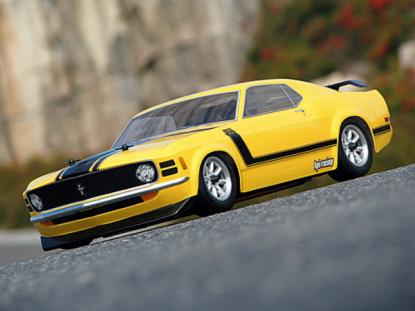 HPI Racing Корпус 1/10 1970 FORD MUSTANG BOSS 302 (200мм) некрашеный