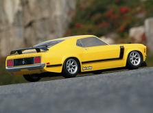 HPI Racing Корпус 1/10 1970 FORD MUSTANG BOSS 302 (200мм) некрашеный-фото 2