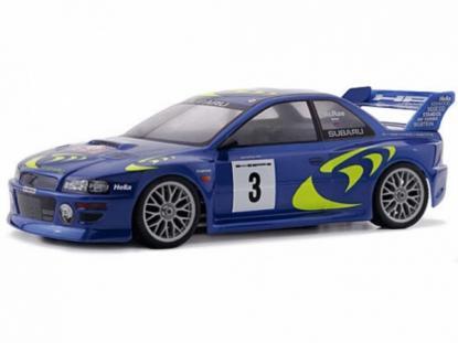 HPI Racing Корпус 1/10 SUBARU Impreza WRC 98 (190мм), некрашеный