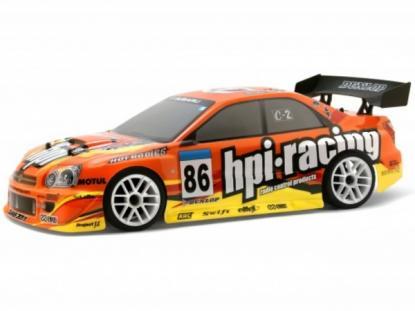 HPI Racing Корпус 1/10 RACING IMPREZA (190мм/WB255мм), некрашеный