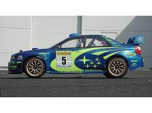 HPI Racing Корпус 1/10 SUBARU IMPREZA WRC 2001 (200мм), некрашеный-фото 2