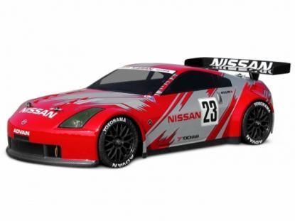HPI Racing Корпус 1/10 Nissan 350z Nismo Gt (200мм), некрашеный