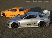 HPI Racing Корпус 1/10 MAZDA RX-8 MAZDASPEED A SPEC (200мм/WB255мм), некрашеный-фото 3