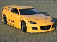 HPI Racing Корпус 1/10 MAZDA RX-8 MAZDASPEED A SPEC (200мм/WB255мм), некрашеный-фото 4