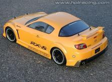 HPI Racing Корпус 1/10 MAZDA RX-8 MAZDASPEED A SPEC (200мм/WB255мм), некрашеный-фото 2
