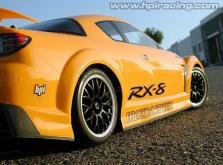 HPI Racing Корпус 1/10 MAZDA RX-8 MAZDASPEED A SPEC (200мм/WB255мм), некрашеный-фото 1