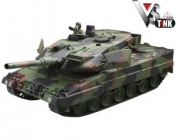 Радиоуправляемый танк  German Leopard 2 A6 Winter 1:24 Airsoft /JR-фото 11
