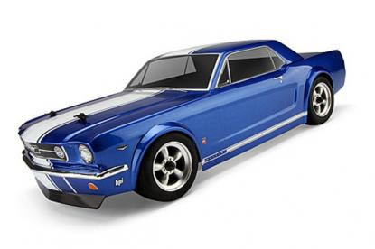 HPI Racing Корпус 1/10 FORD MUSTANG GT COUPE 1966 (неокрашен/200мм)