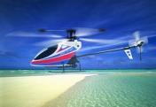 Вертолет Nine Eagles Free Spirit 2.4 GHz (White-Blue)-фото 2