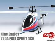 Вертолет Nine Eagles Free Spirit 2.4 GHz (White-Blue)-фото 3