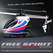 Вертолет Nine Eagles Free Spirit 2.4 GHz (White-Blue)-фото 4