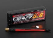 LiPo аккумулятор Turnigy nano-tech 7,4v  5800 mAh 2s2p 30-60c