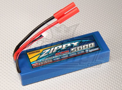 LiPo аккумулятор ZIPPY Flightmax 7,4v 5000 mAh 2s2p 20c
