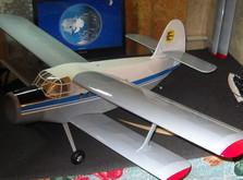 Радиоуправляемый самолет АН-2 KIT версия-фото 7