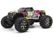 RTR HPI Savage X 4.6 yellow Nitro  4WD 2.4GHz-фото 1