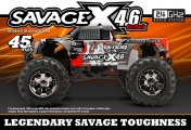RTR HPI Savage X 4.6 yellow Nitro  4WD 2.4GHz-фото 7