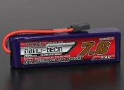 LiPo Аккумулятор Turnigy nano-tech 7600 mAh 2s 40-80C