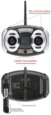 Вертолет Nine Eagles Combat Twister 2.4 GHz-фото 3