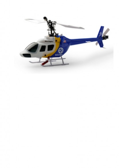 Вертолет  Nine Eagle Bell 206 2.4 GHz (Blue RTF Version)