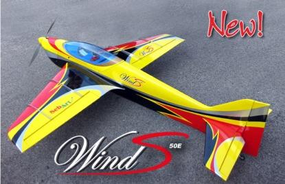 Модель самолёта SebArt Wind S 50E